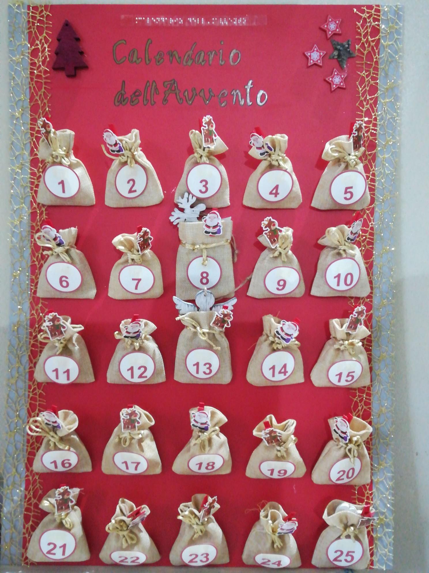 Calendario Di Avvento Per Bambini.Calendario Dell Avvento Centro Italiano Tiflotecnico